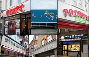 sign manufacturers in london